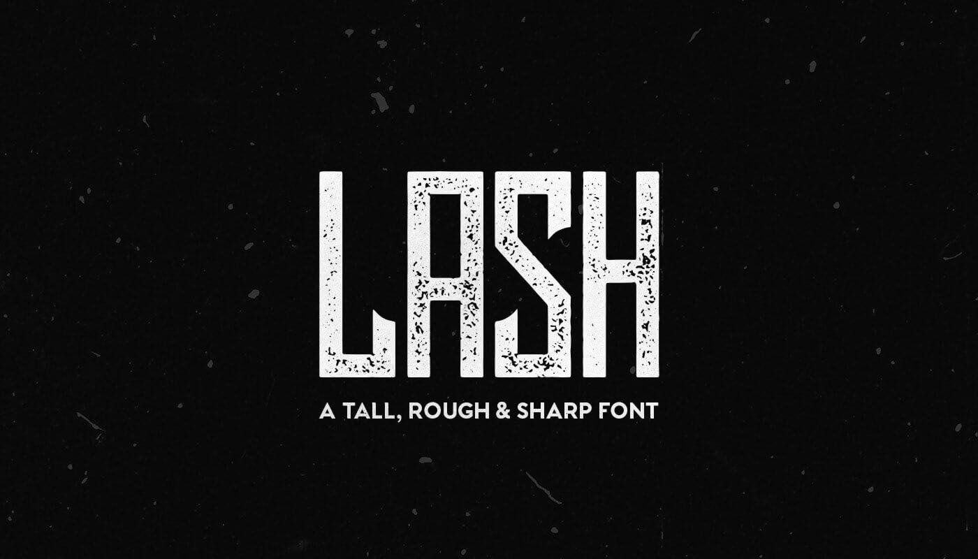 Lash font